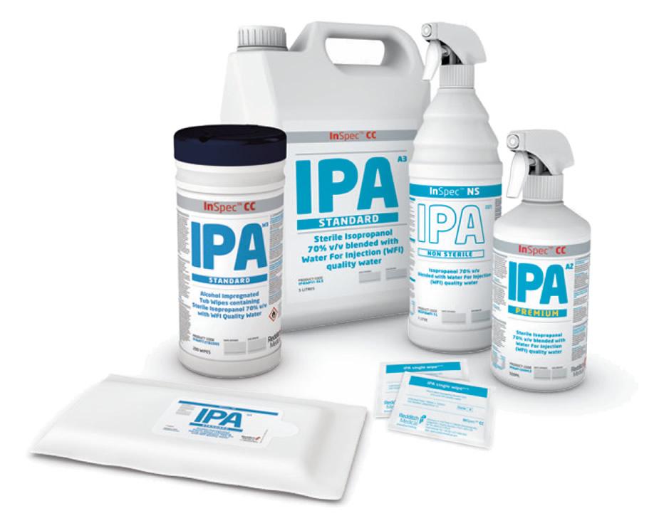 Redditch Medical InSPEC™ IPA TDS